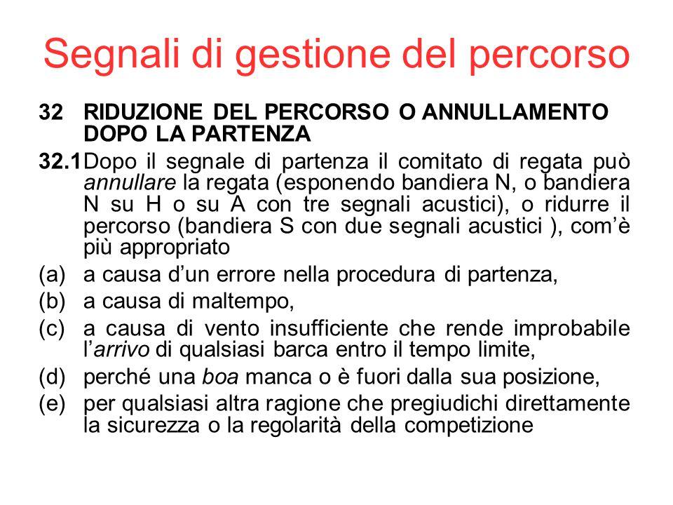 Segnali preparatori Esistono anche altri segnali preparatori, ma non si usano molto in Italia, quindi al vostro livello non sono rilevanti. Il segnale