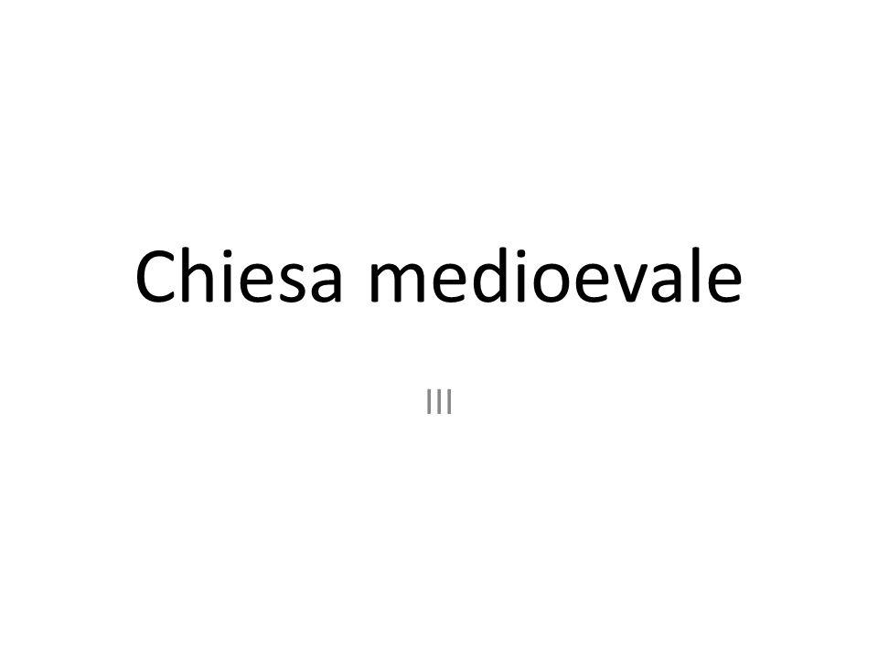 RIFORMARE LA CRISTIANITA' RIMANENDO ALL'INTERNO DELLA CHIESA IIII