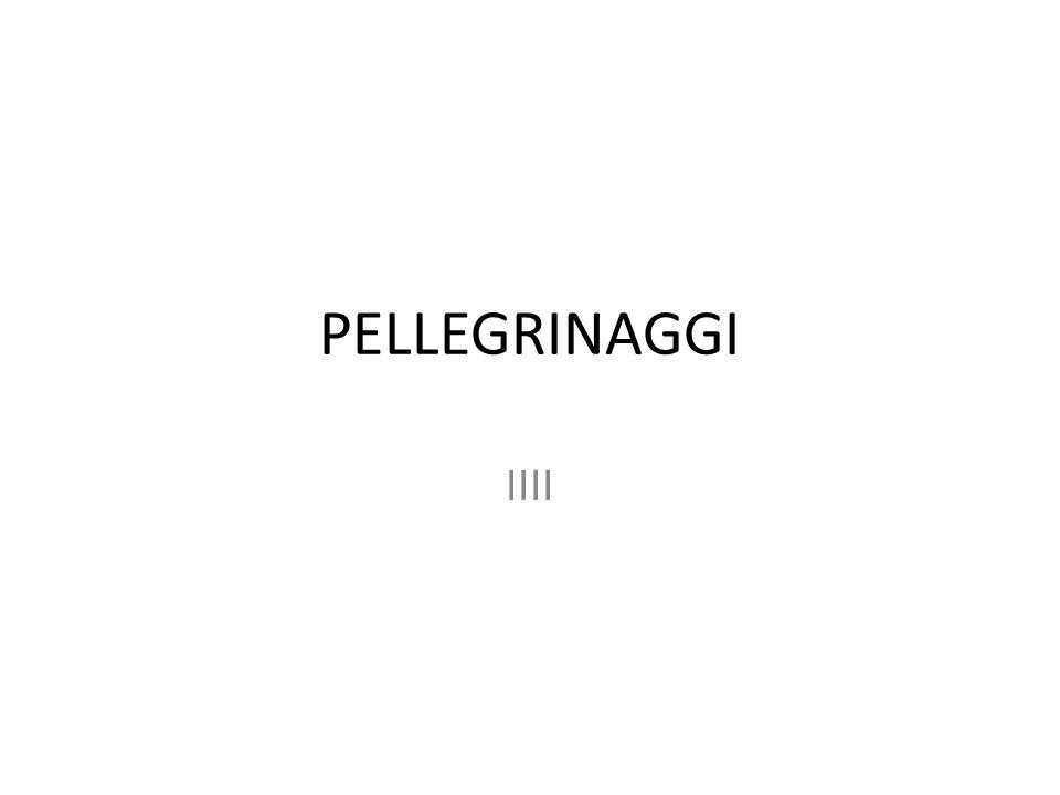 PELLEGRINAGGI IIII