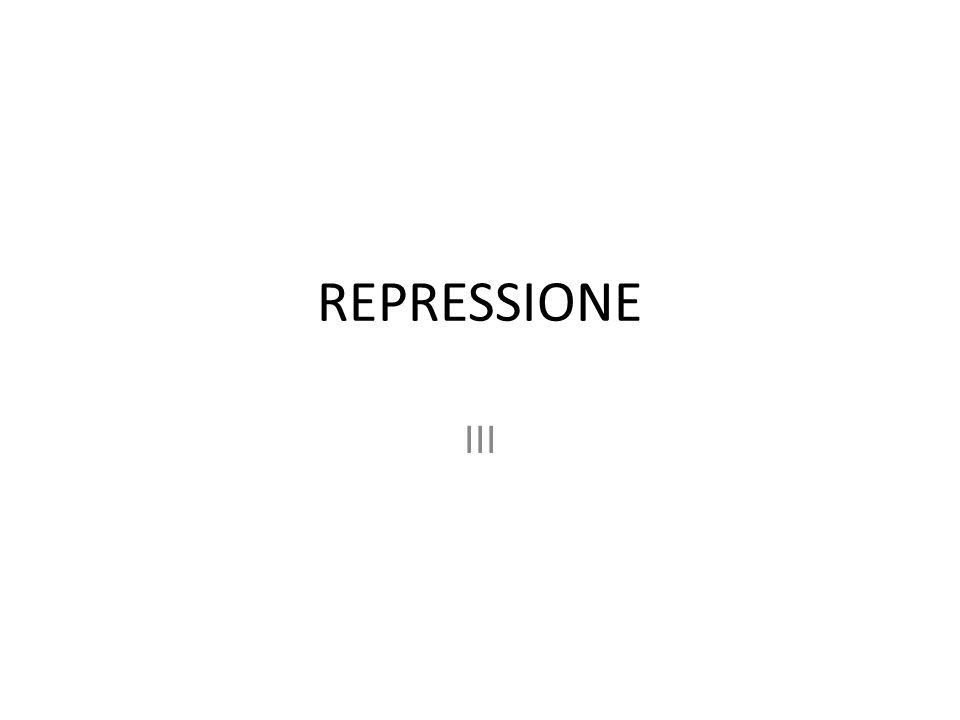 REPRESSIONE III