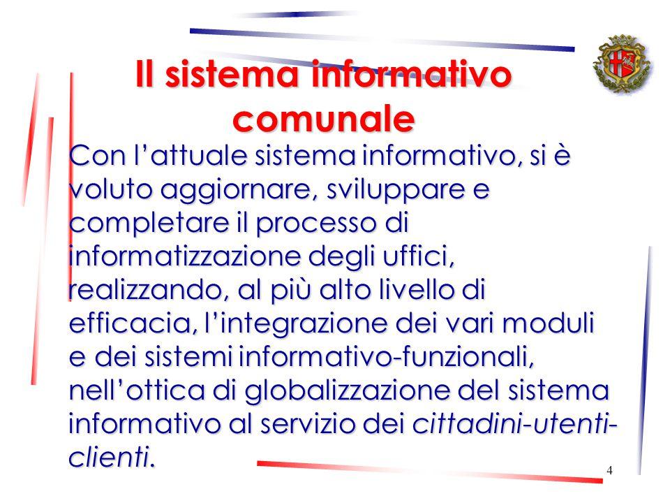 3 La conferenza dei dirigenti Strumento di coordinamento tecnico di tutte le attività del Comune Funzioni di programmazione, indirizzo e controllo Inc