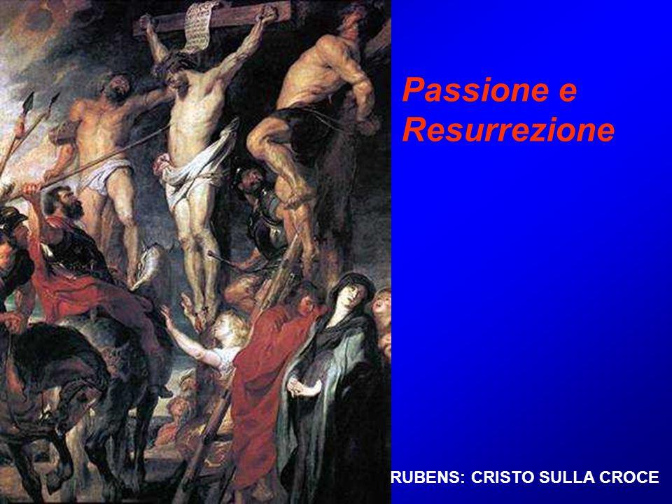 RUBENS: CRISTO SULLA CROCE Passione e Resurrezione