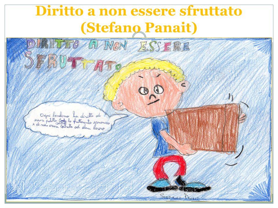 Diritto a non essere sfruttato (Stefano Panait)