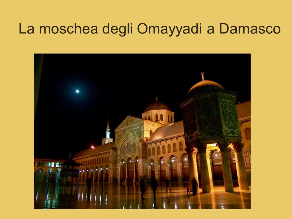 La moschea degli Omayyadi a Damasco