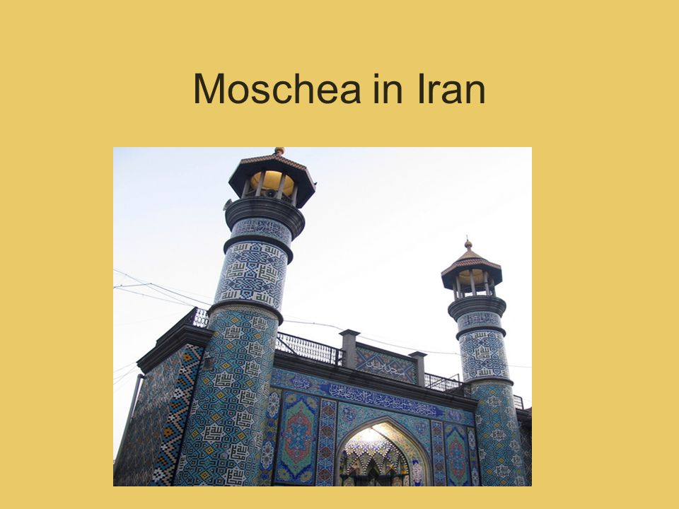 Moschea in Iran