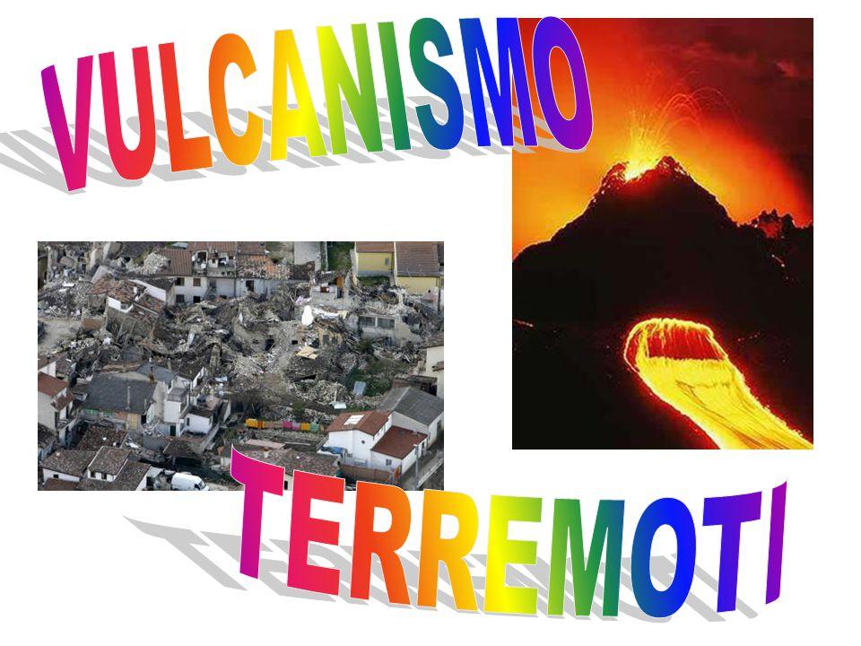  magma viscoso (acido): l'attività vulcanica è prevalentemente ESPLOSIVA.