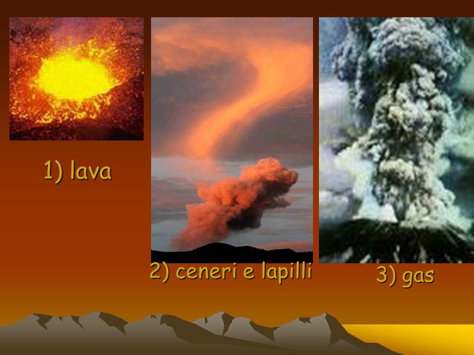 Questi elementi provengono dal centro della terra e vengono spinti fuori NON SEMPRE allo stesso modo.