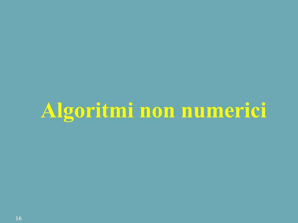 Algoritmi non numerici 16