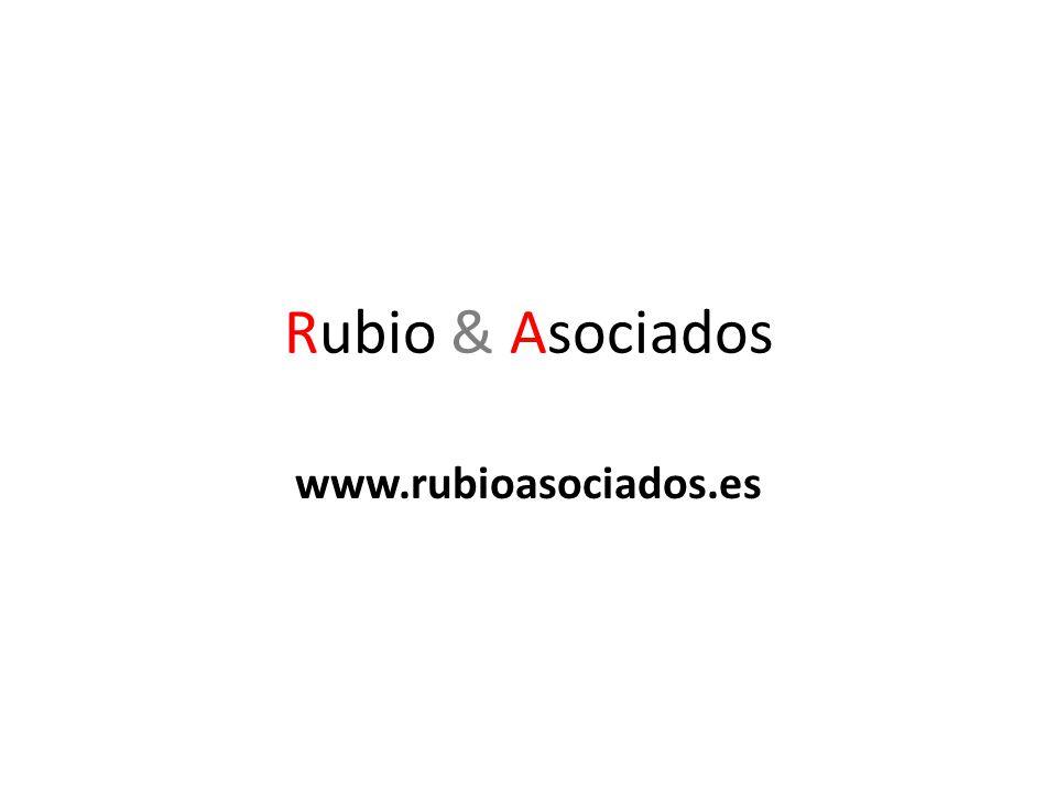 Rubio & Asociados www.rubioasociados.es