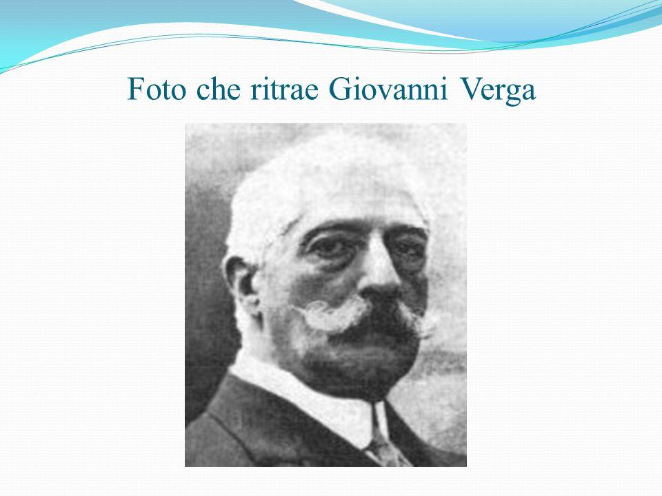 Foto che ritrae Giovanni Verga