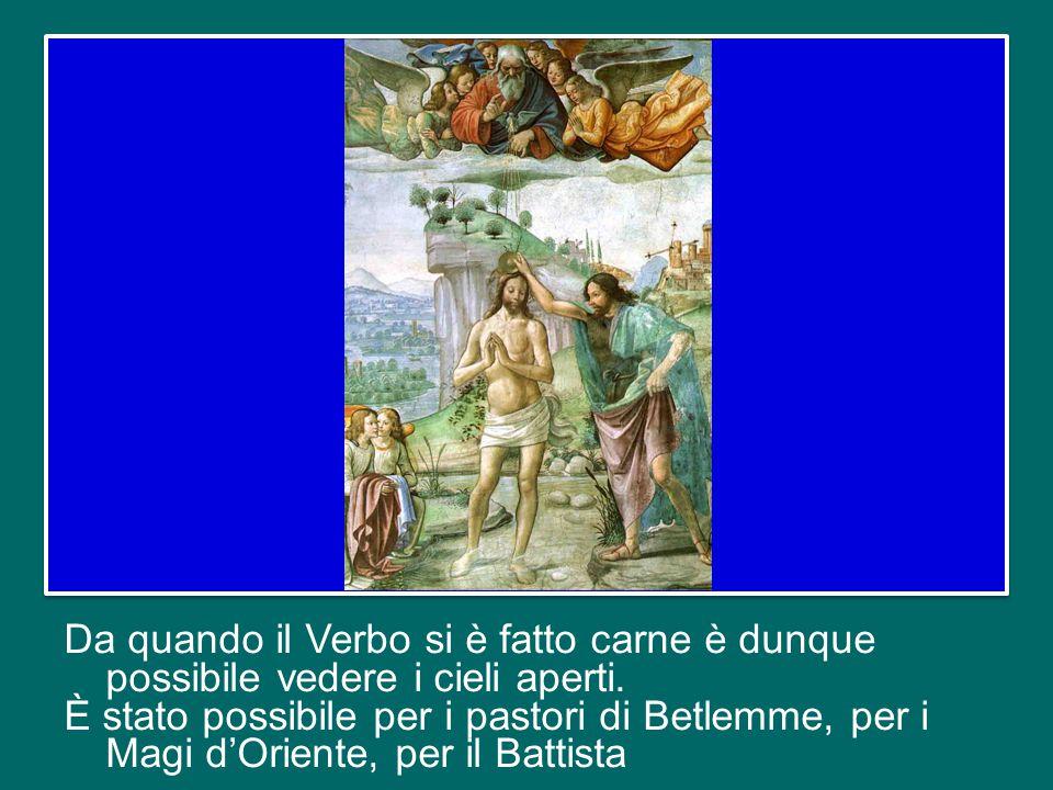 La manifestazione del Figlio di Dio sulla terra segna l'inizio del grande tempo della misericordia, dopo che il peccato aveva chiuso i cieli, elevando