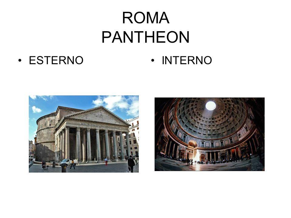 ROMA PANTHEON ESTERNOINTERNO