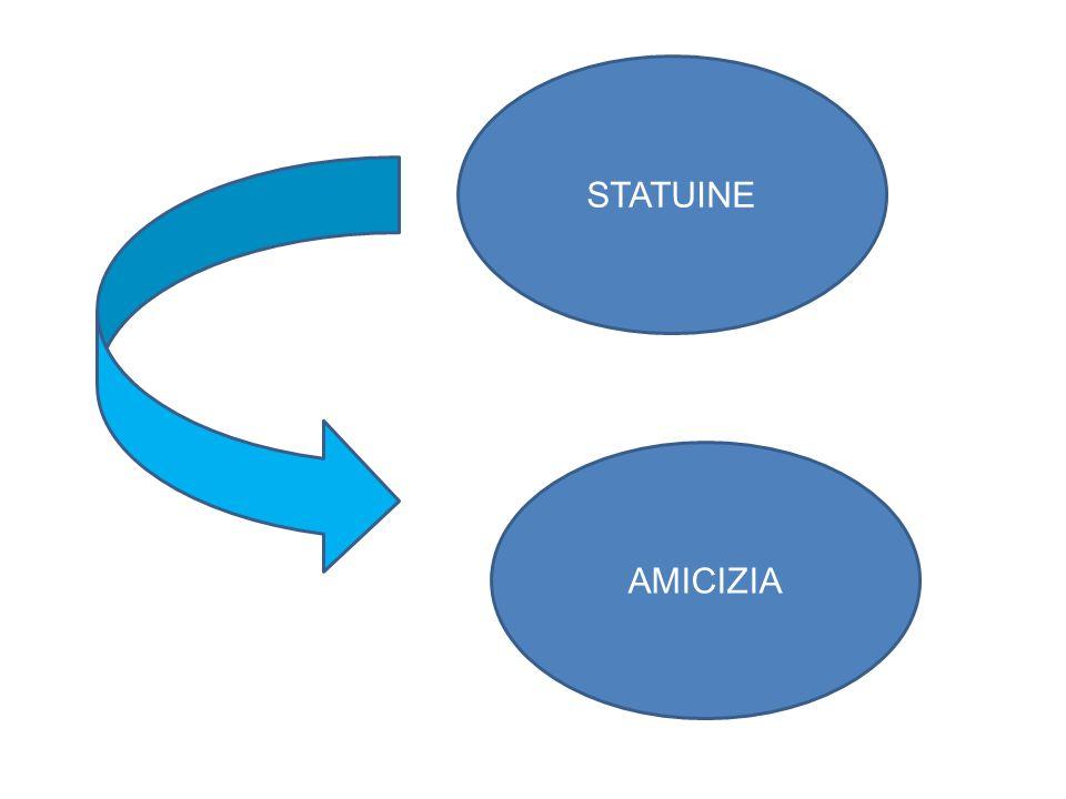 STATUINE AMICIZIA