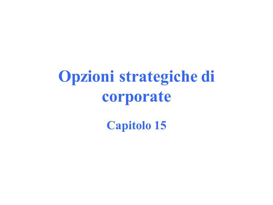 1.Espansione orizzontale 2.Integrazione verticale 3.Diversificazione produttiva 4.Internazionalizzazione 5.Turnaround e gestione delle crisi