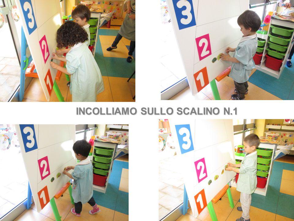 INCOLLIAMO SULLO SCALINO N.1