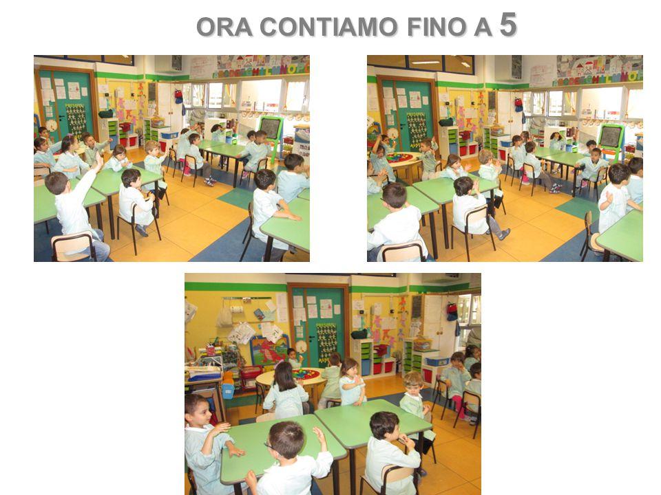 ORA CONTIAMO FINO A 5