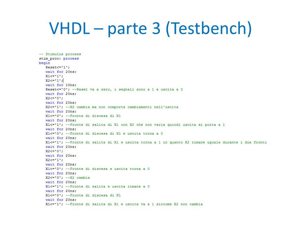 VHDL – parte 3 (Testbench)