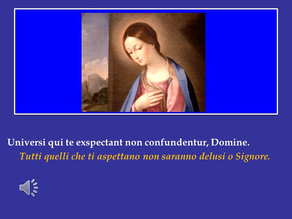 C'è una misteriosa corrispondenza tra l'attesa di Dio e quella di Maria, la creatura