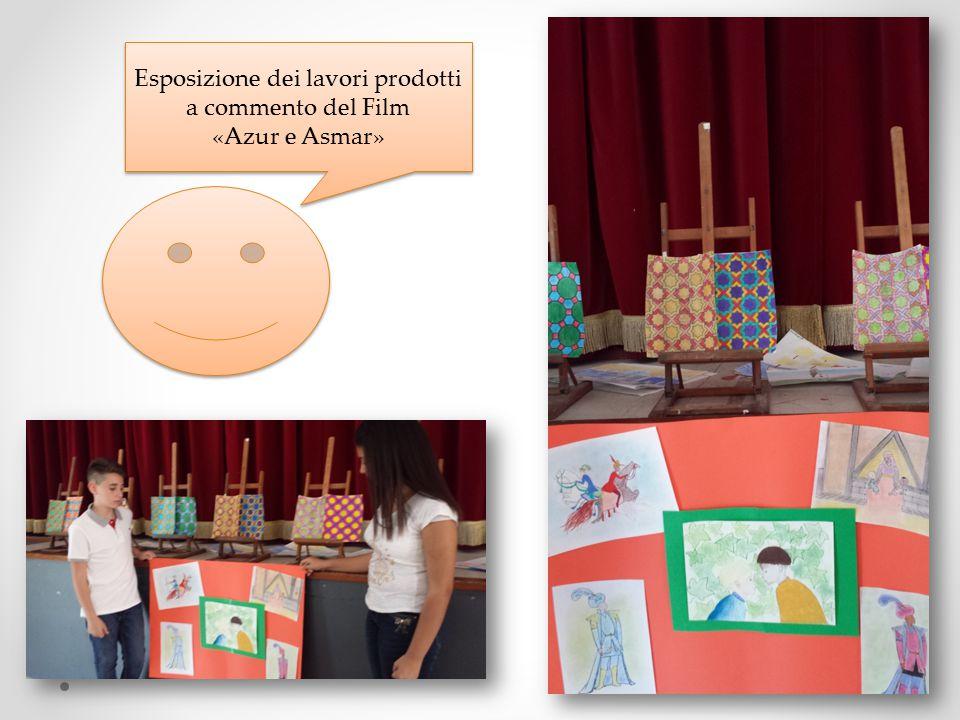 Esposizione dei lavori prodotti a commento del Film «Azur e Asmar» Esposizione dei lavori prodotti a commento del Film «Azur e Asmar»