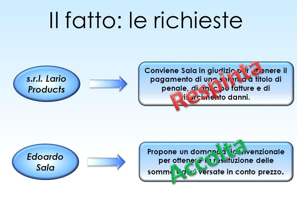 Il fatto: le richieste/2 Giuliano Pagani 2.