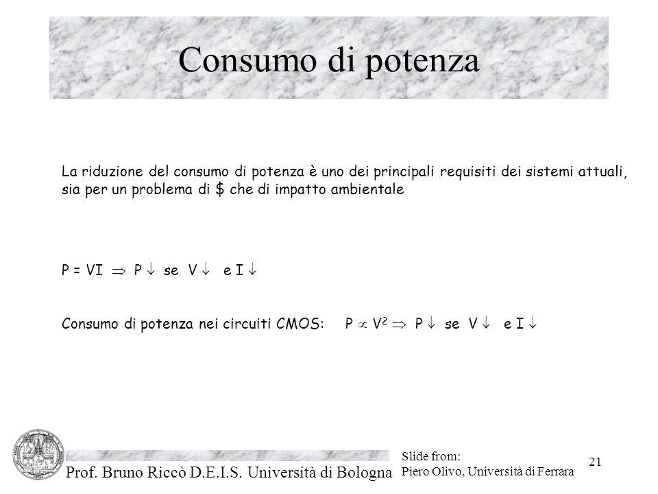 Prof. Bruno Riccò D.E.I.S.
