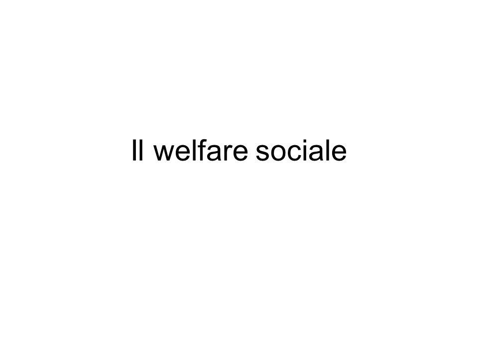 Il welfare sociale