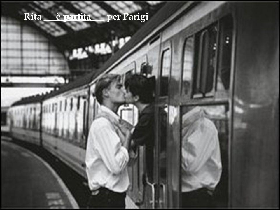 Rita _____________ per Parigiparteè partita