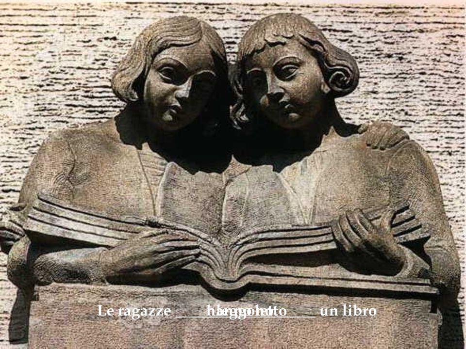 Le ragazze __________________ un libroleggonohanno letto