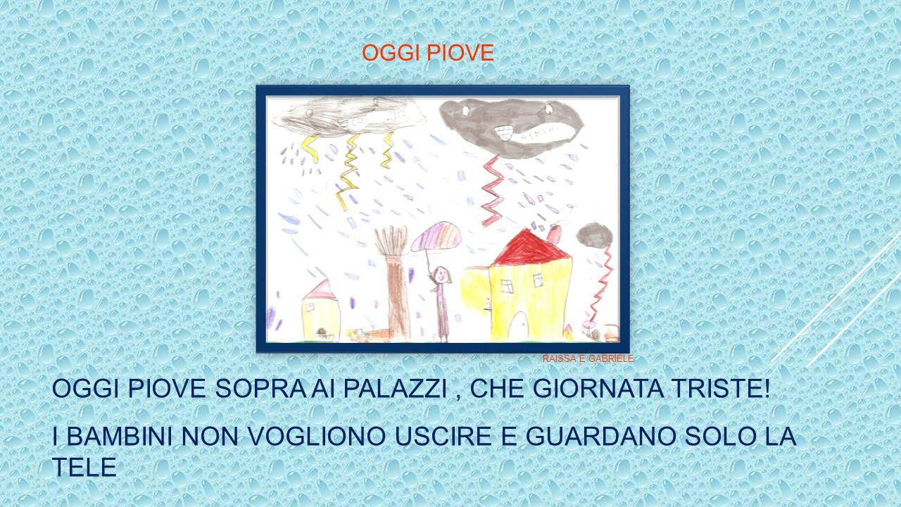 Esperienze operative di gruppo Cooperative learning …e adesso… dipingiamo la pioggia... G. – Dobbiamo usare l'azzurro, perché la pioggia è azzurra P.