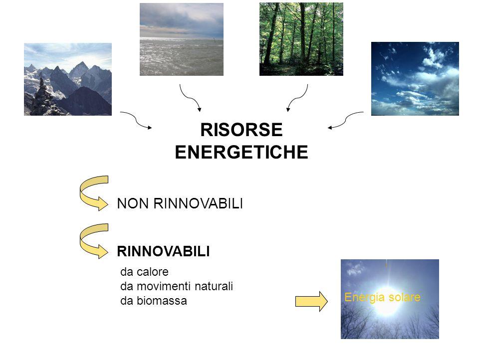 La principale fonte di energia Il Sole, oltre ad essere utilizzato dall'uomo per produrre energia, è utilizzato in natura attraverso il processo della fotosintesi clorofilliana.