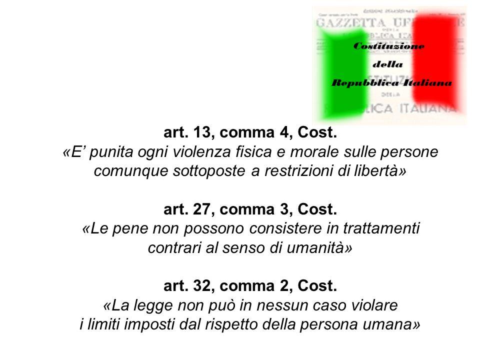 art. 13, comma 4, Cost.