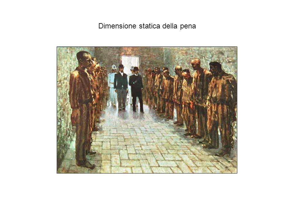 Dimensione statica della pena