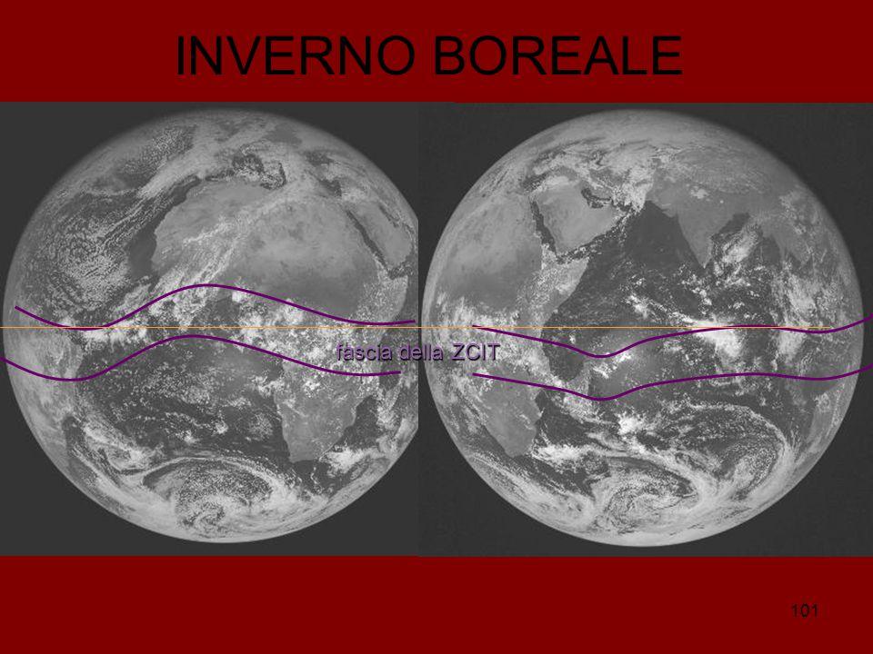 101 INVERNO BOREALE fasciadella ZCIT fascia della ZCIT