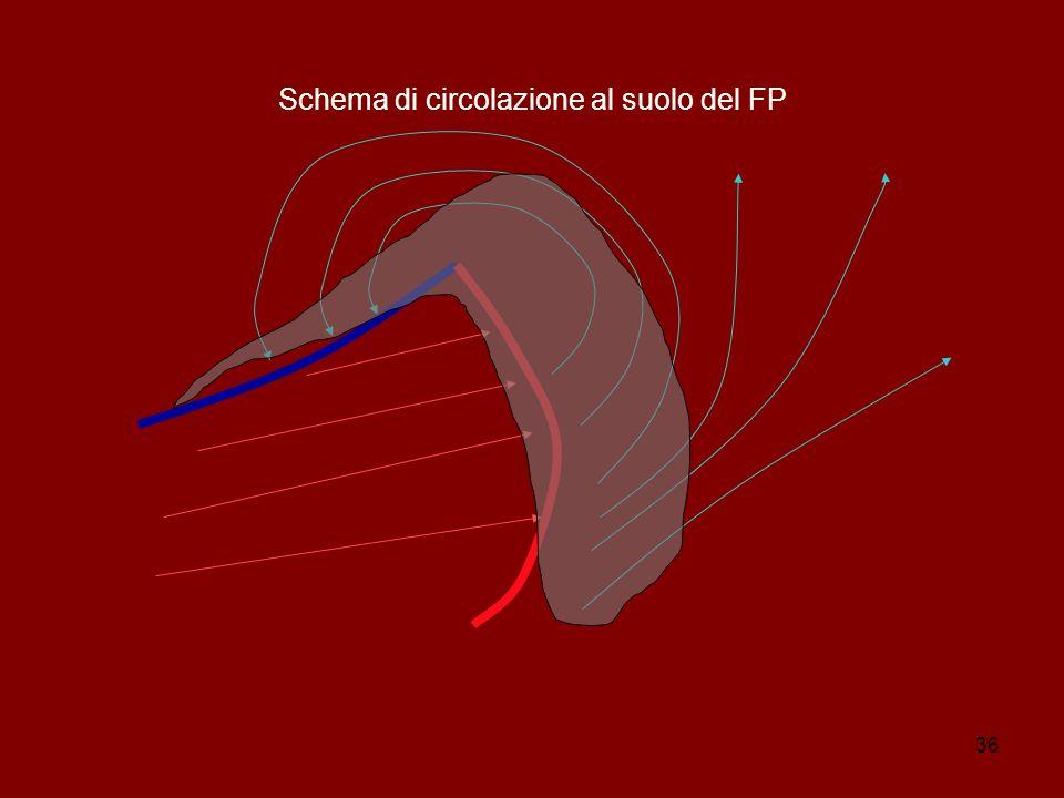 36 Schema di circolazione al suolo del FP