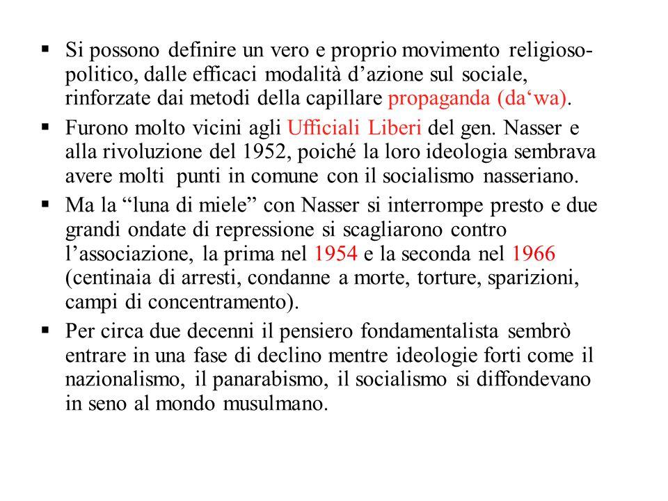  Si possono definire un vero e proprio movimento religioso- politico, dalle efficaci modalità d'azione sul sociale, rinforzate dai metodi della capil