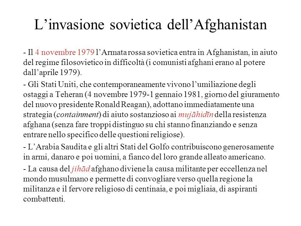 L'invasione sovietica dell'Afghanistan - Il 4 novembre 1979 l'Armata rossa sovietica entra in Afghanistan, in aiuto del regime filosovietico in diffic