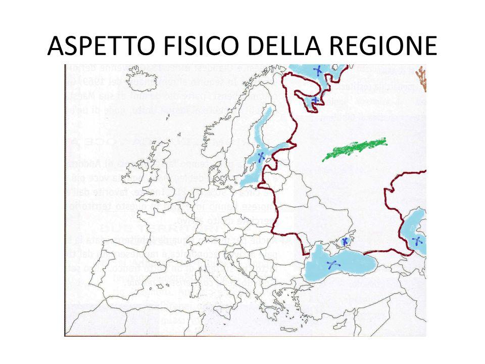 ASPETTO FISICO DELLA REGIONE