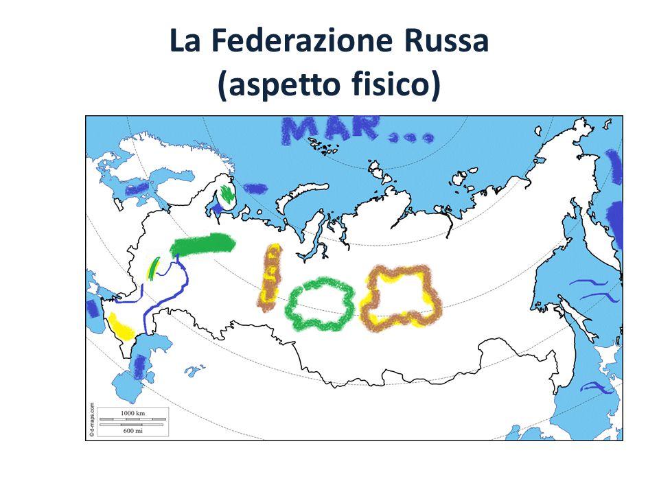 La Federazione Russa (aspetto fisico)