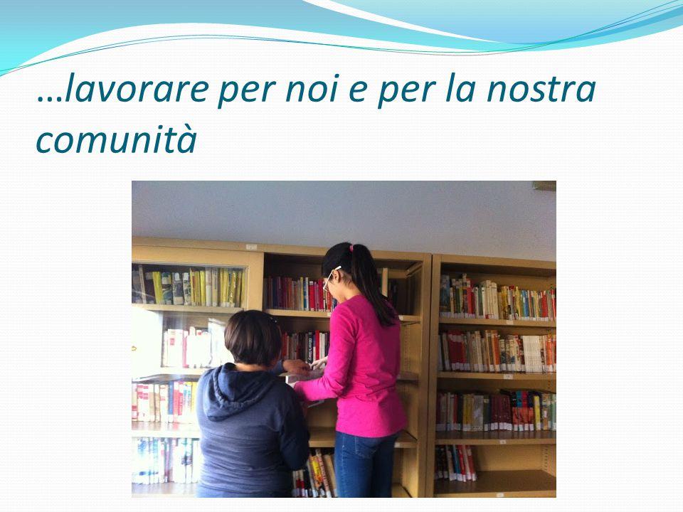 Adesso è più piacevole fermarsi a leggere un libro… …nel silenzio della nostra biblioteca