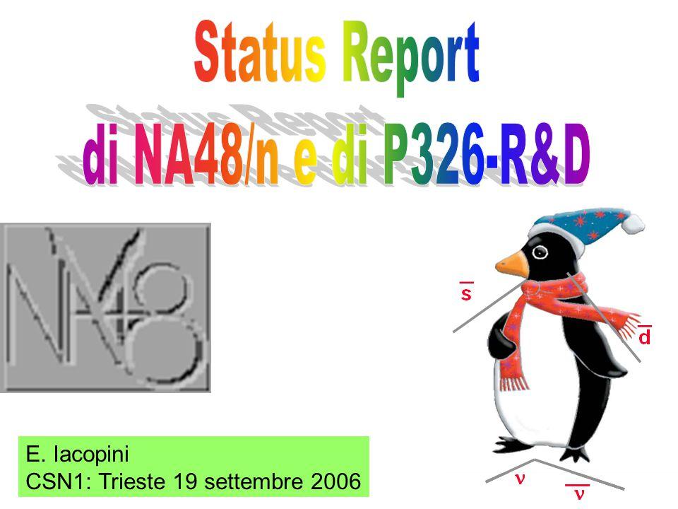 E. Iacopini CSN1: Trieste 19 settembre 2006