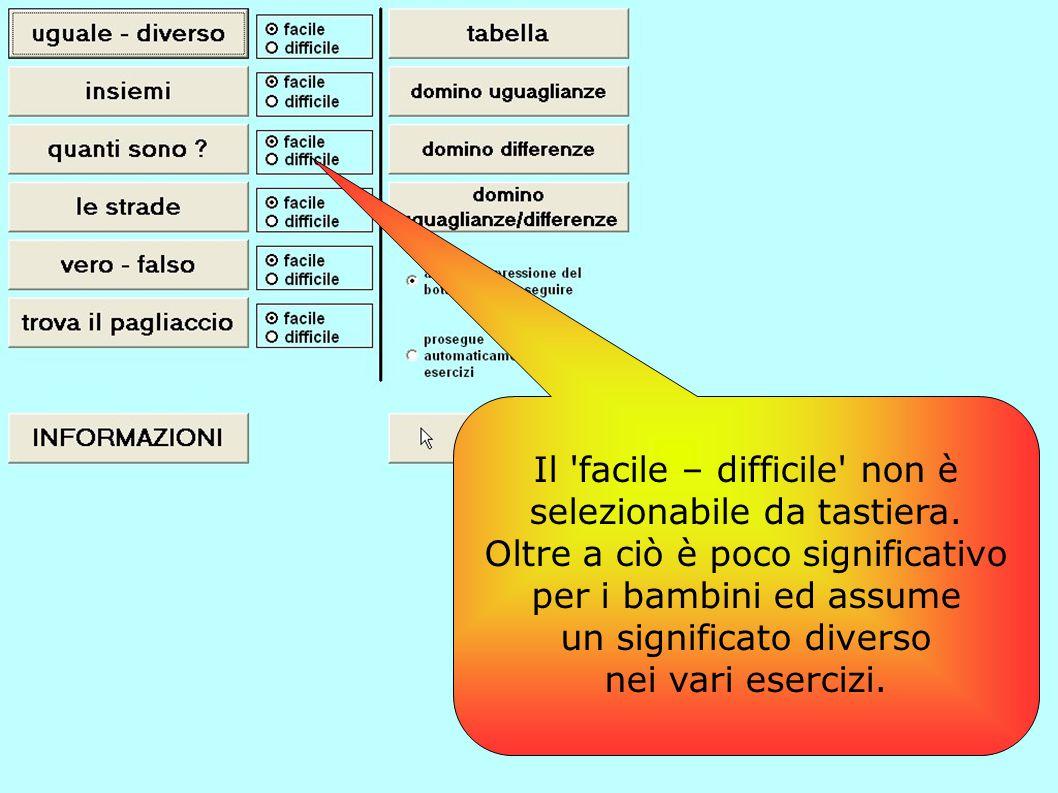 Il pulsante Informazioni non ha alcuna utilità per gli alunni, quindi risulta in questa posizione solo di disturbo.