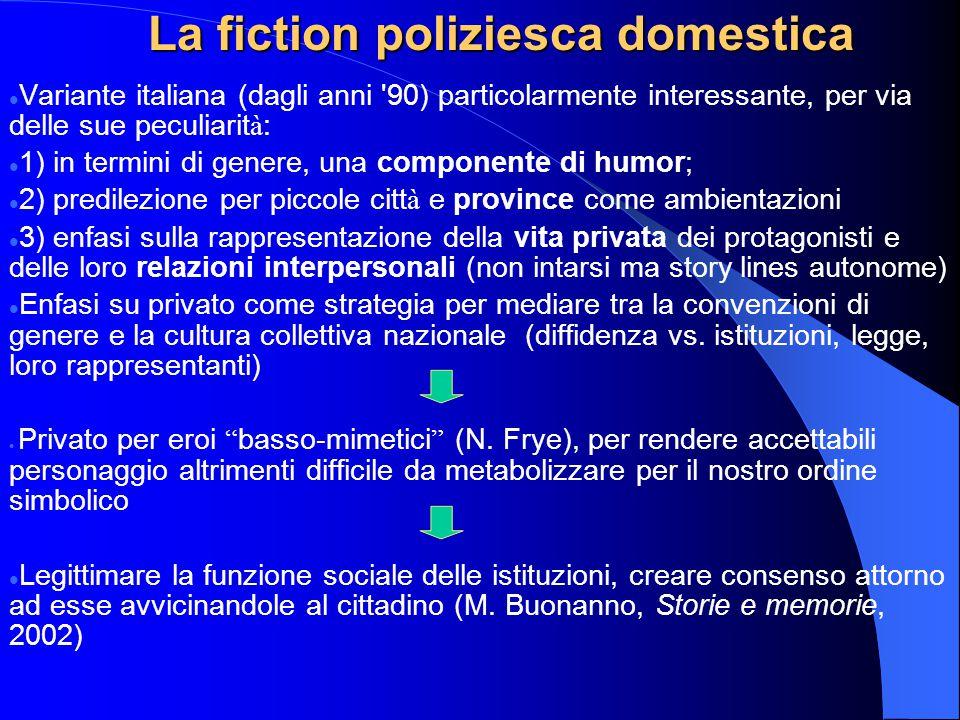 Variante italiana (dagli anni '90) particolarmente interessante, per via delle sue peculiarit à : 1) in termini di genere, una componente di humor; 2)