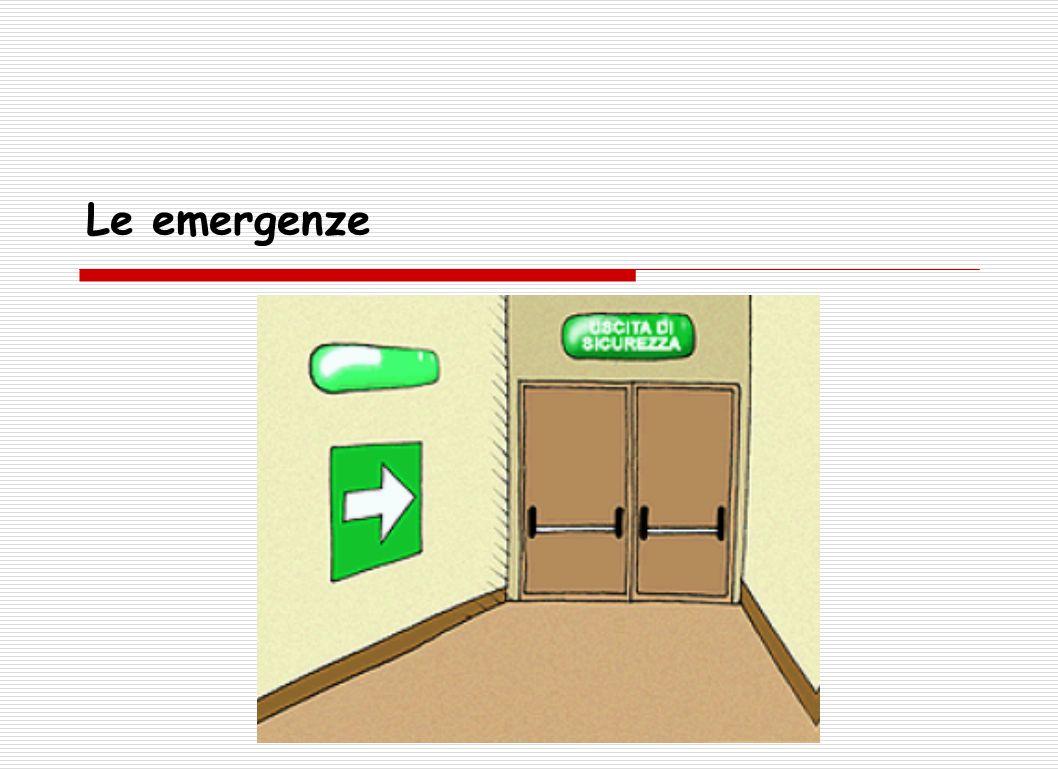 Le emergenze