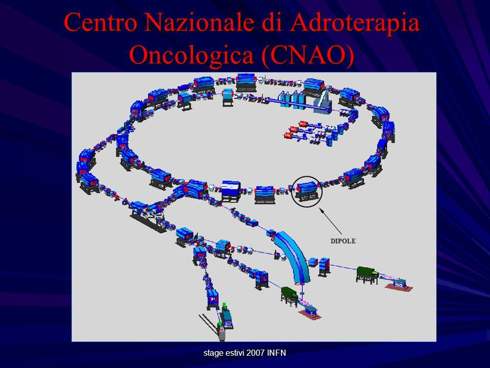 stage estivi 2007 INFN Centro Nazionale di Adroterapia Oncologica (CNAO) DIPOLE