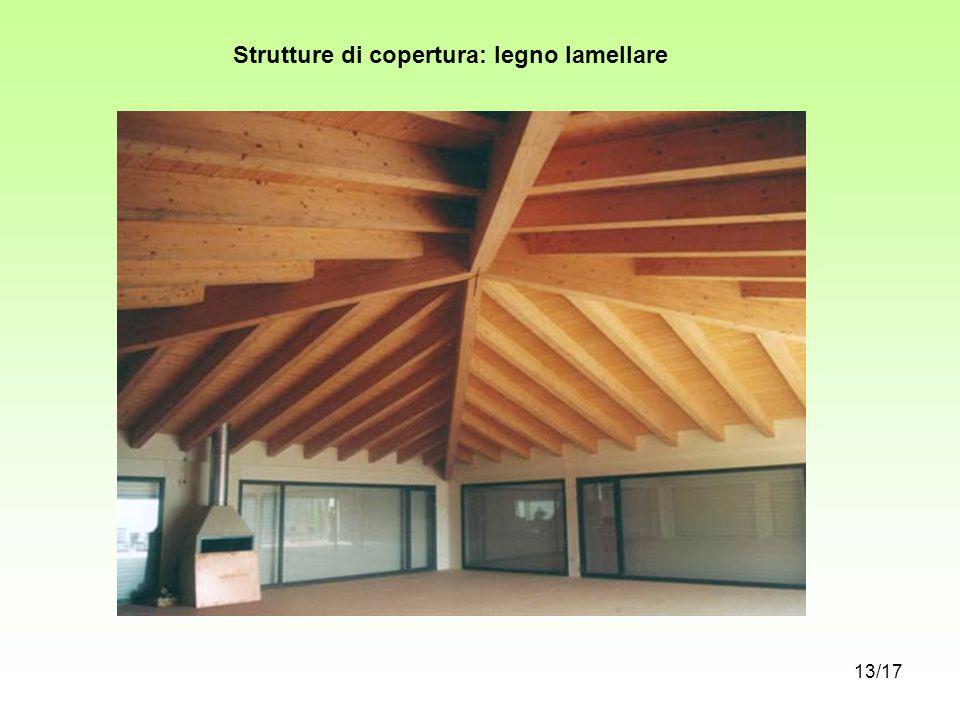 Strutture di copertura: legno lamellare 13/17