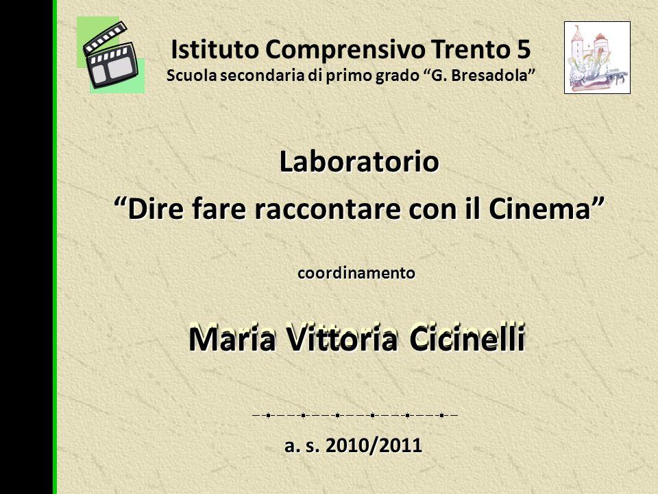 I.C. Trento 5 - SSDPG G. Bresadola – laboratorio cinema 2010/2011 – foto di scena