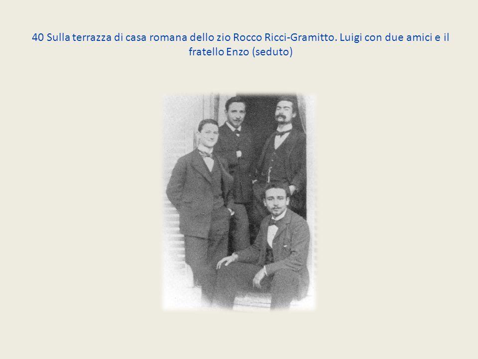 40 Sulla terrazza di casa romana dello zio Rocco Ricci-Gramitto.