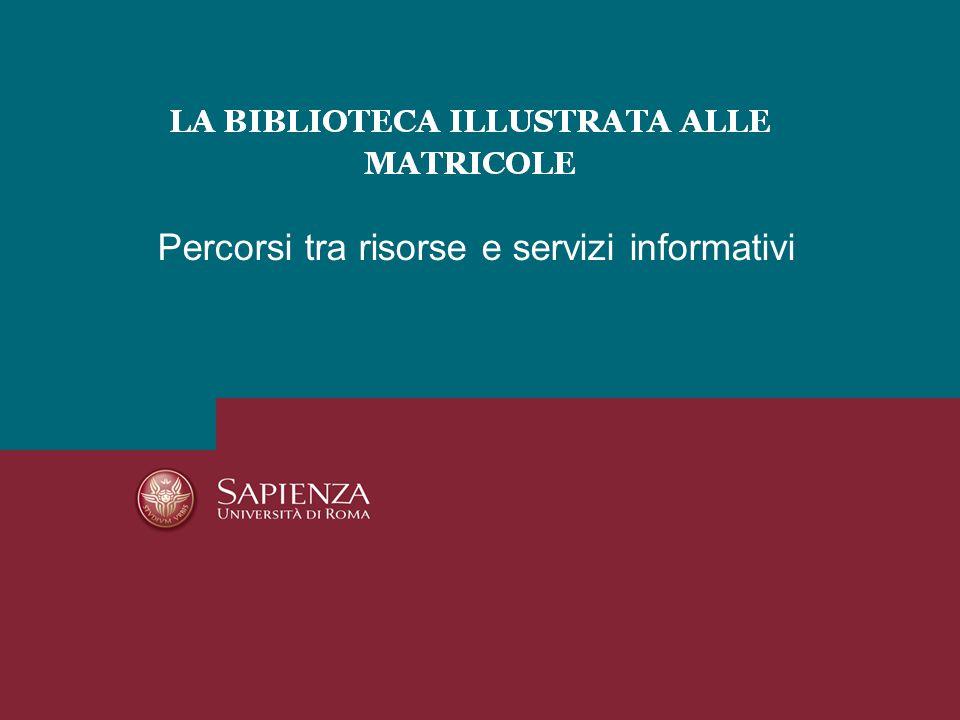 Biblioteca Dipartimento Biologia e Biotecnologie C.
