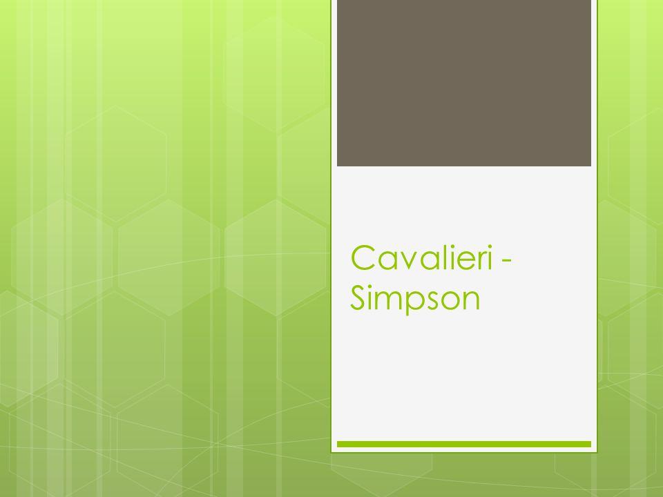 Cavalieri - Simpson