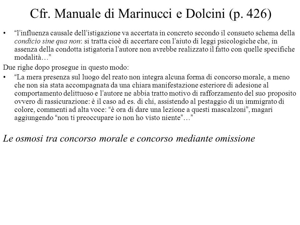 Cfr.Manuale di Marinucci e Dolcini (p.